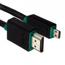 Kabel HDMI - micro HDMI BLACK