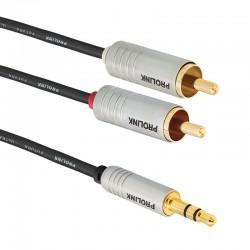 Kabel JACK 3.5 -2 RCA FUTURA FSL 203