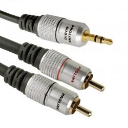 Kabel 2RCA - JACK 3.5 TCV 3420