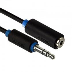 Kabel JACK - 2 RCA BLACK
